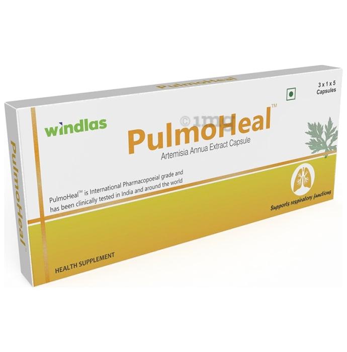 Windlas PulmoHeal Capsule