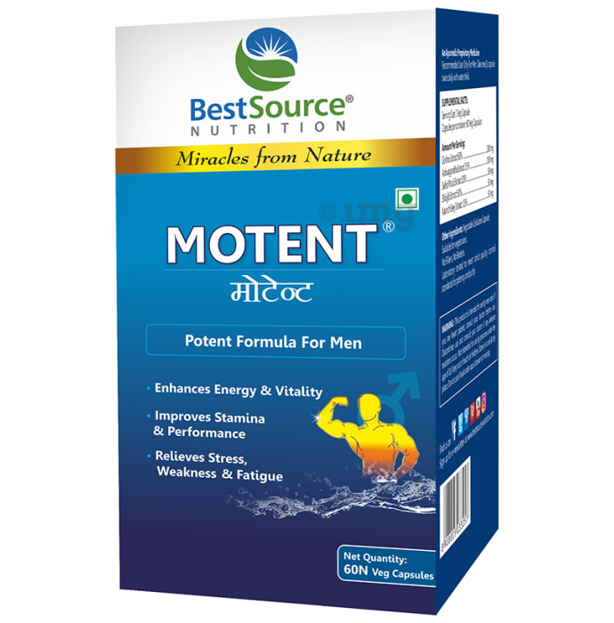 BestSource Nutrition Motent - Potent Formula For Men Capsule