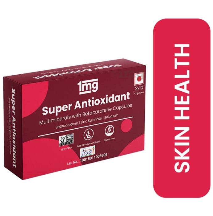 1mg Super Antioxidant Multiminerals with Betacarotene Capsule