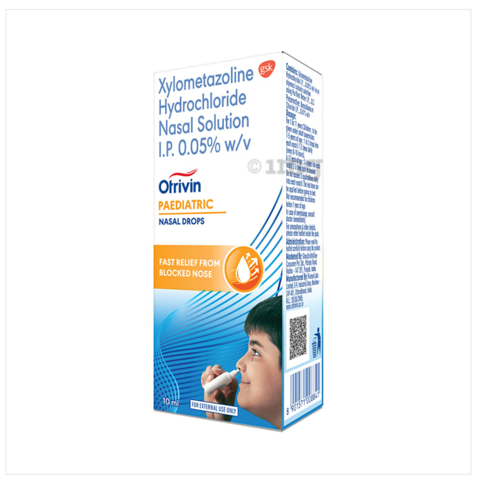 Otrivin Paediatric Nasal Drops