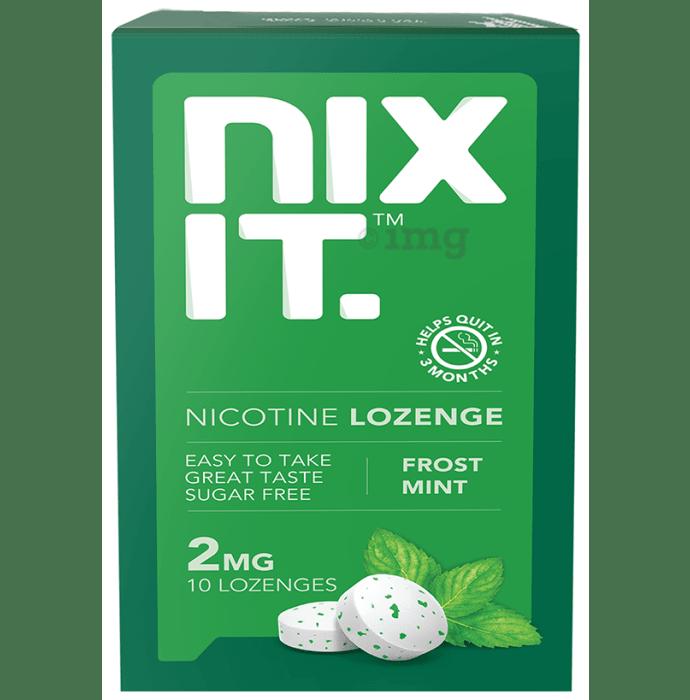 Nixit Nicotine 2mg Lozenge (10 Each) Frost mint Sugar Free