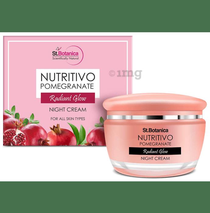 St.Botanica Nutritivo Pomegranate Night Cream