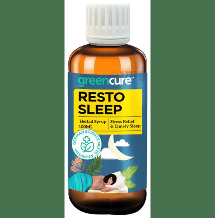 Green Cure Resto Sleep Herbal Syrup