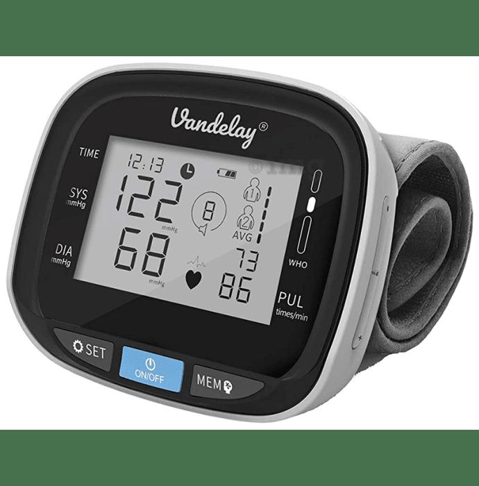 Vandelay Grey BP Check  Blood Pressure Monitor