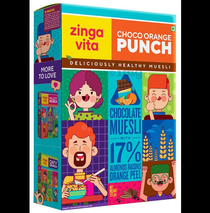 Zingavita Choco Orange Punch Muesli