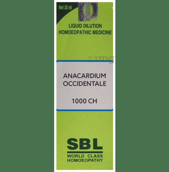 SBL Anacardium Occidentale Dilution 1000 CH