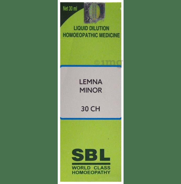 SBL Lemna Minor Dilution 30 CH