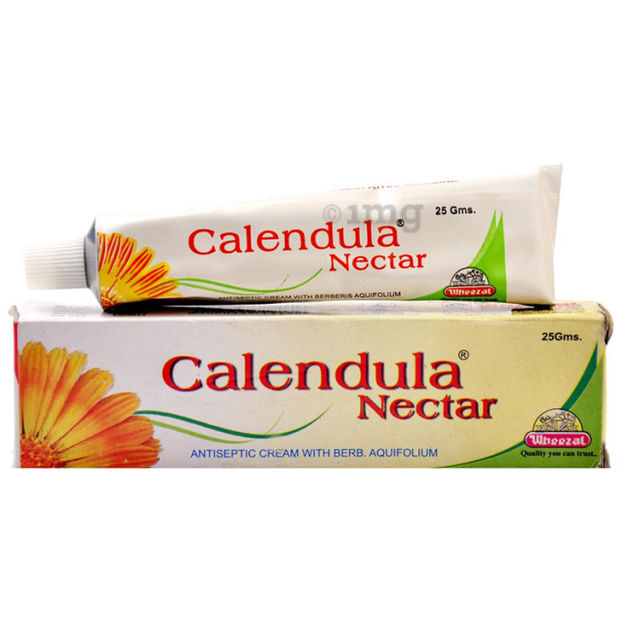 Wheezal Calendula Nectar Antiseptic Cream