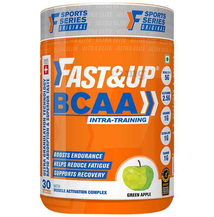 Fast&Up BCAA Green Apple