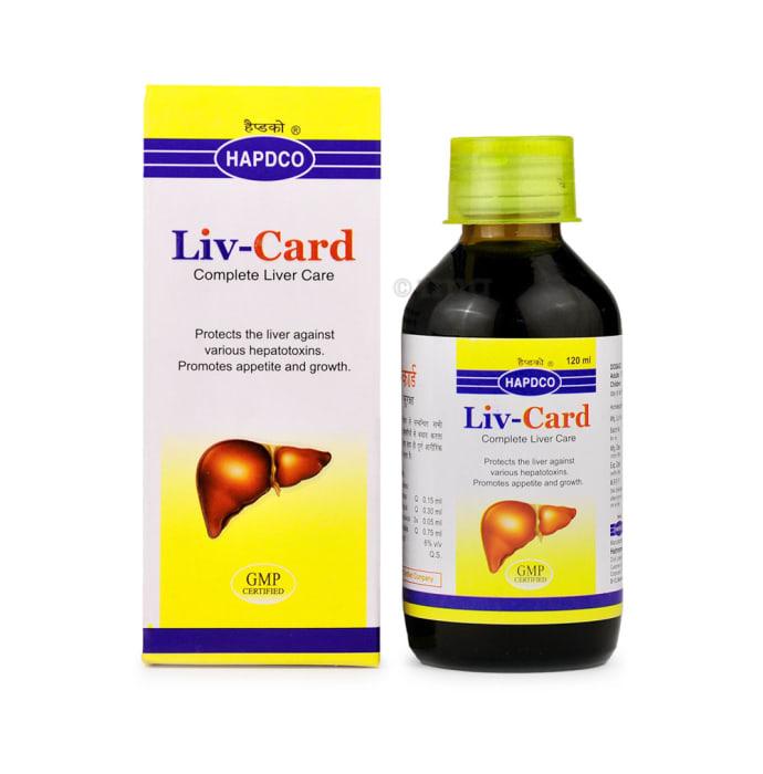 Hapdco Liv - Card Syrup