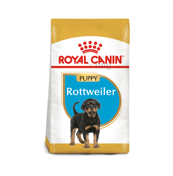 Royal Canin Rottweiler Pet Food Puppy