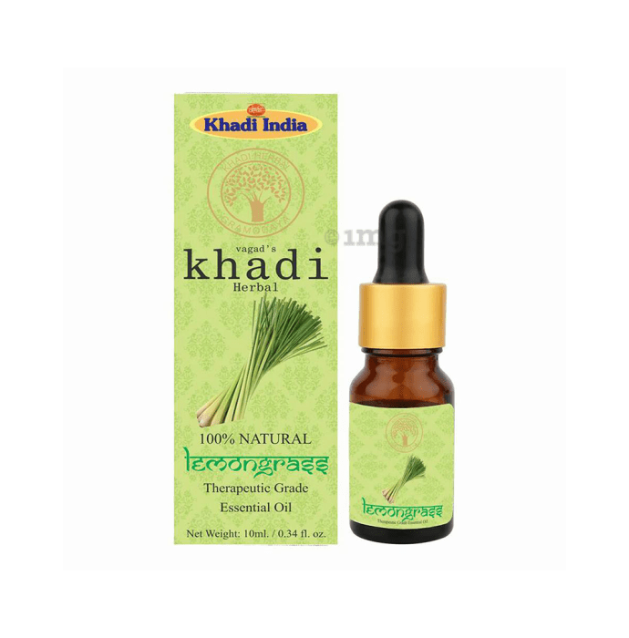 Vagad's Khadi Herbal Lemongrass Essential Oil