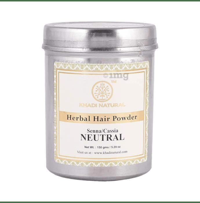 Khadi Naturals Herbal Hair Powder (Senna/Cassia)