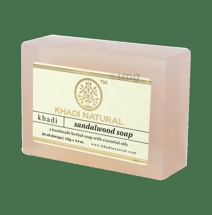 Khadi Naturals Ayurvedic Sandalwood Soap