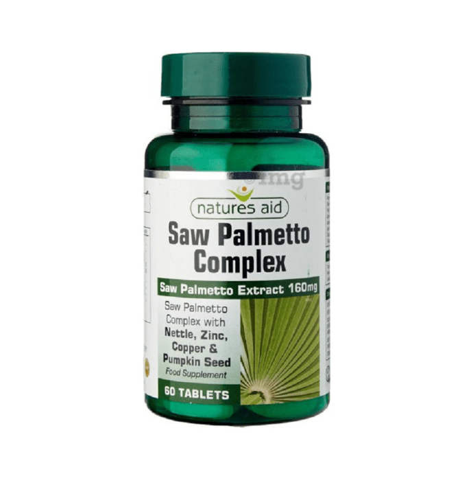 Natures Aid Saw Palmetto Complex Tablet