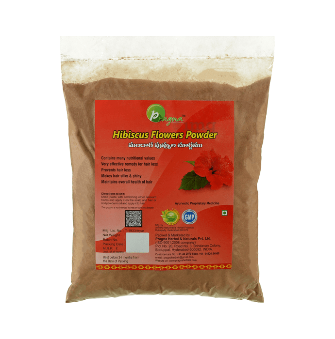 Pragna Hibiscus Flowers Powder