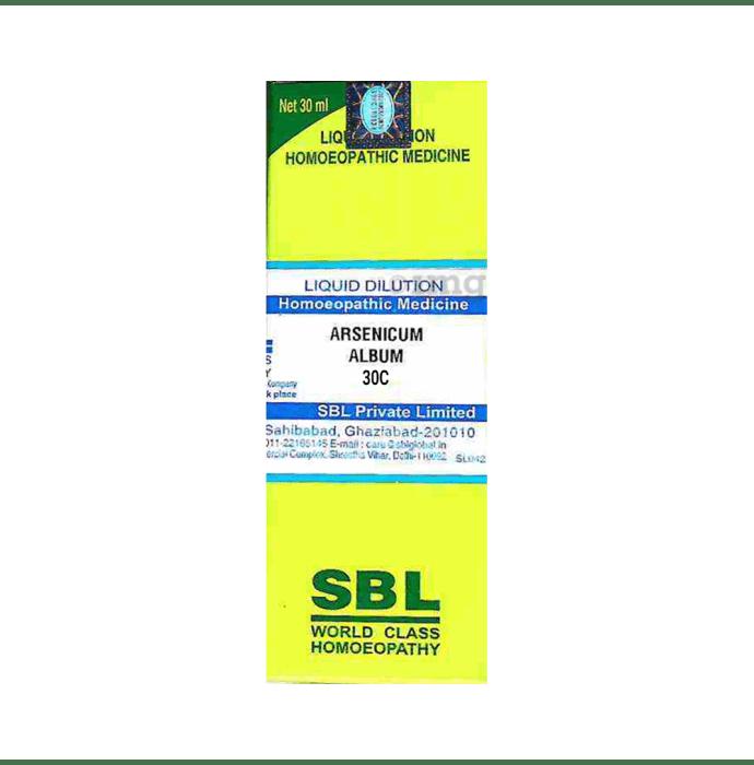 SBL Arsenicum Album Dilution 30 CH
