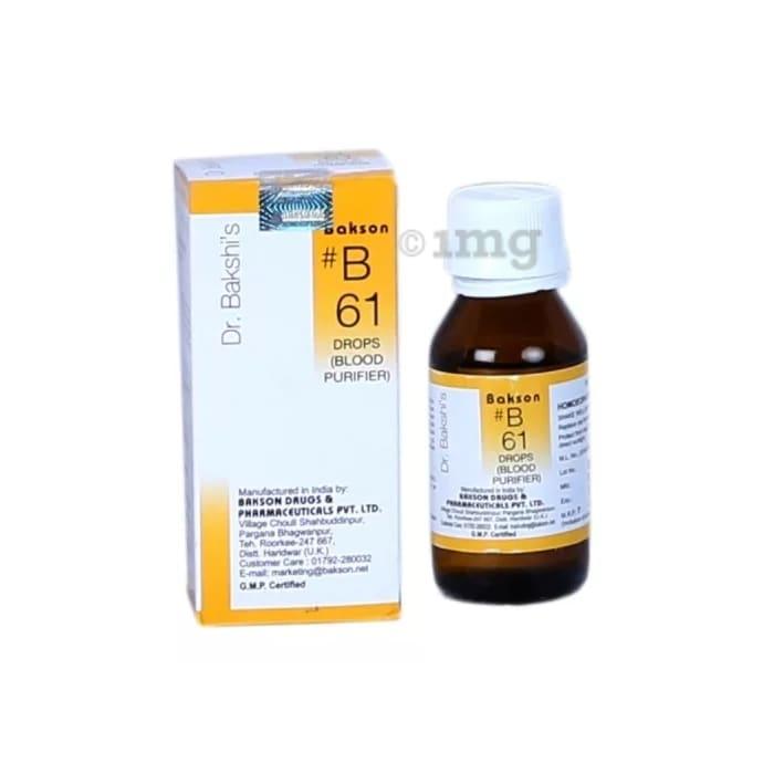 Bakson's B61 Blood Purifier Drop