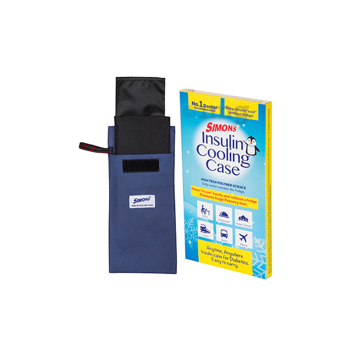 Simon's Insulin Cooling Case Blue