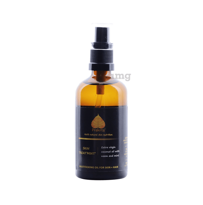 Prakrta Skin Treat 'Mint' Body & Hair Oil
