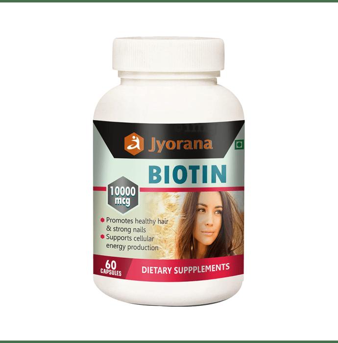 Jyorana Biotin 10000mcg Capsule