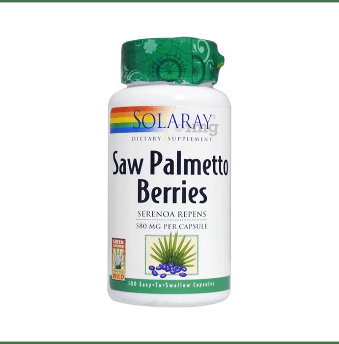 Solaray Saw Palmetto Berries 580mg Capsule
