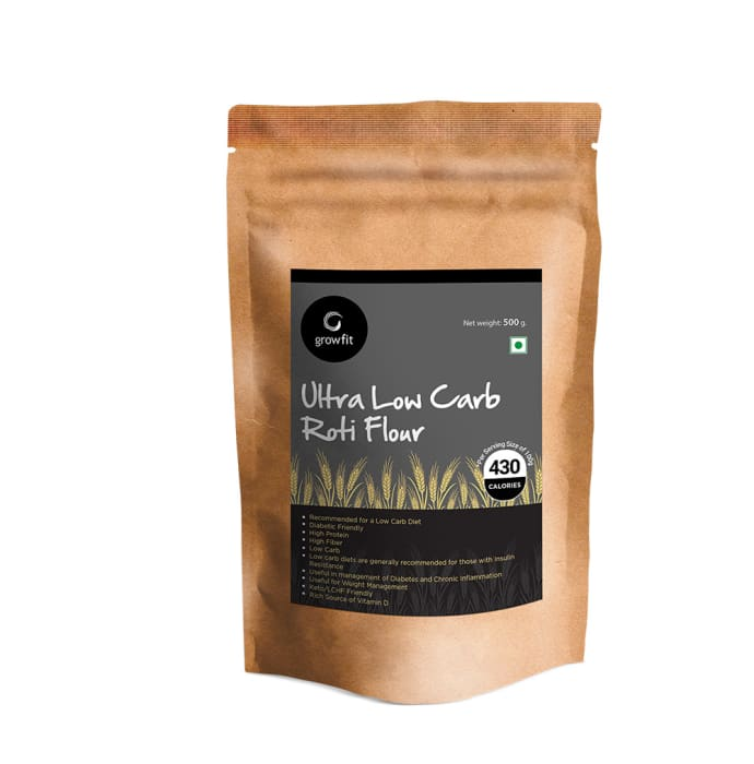 Growfit Ultra Low Carb Roti Flour