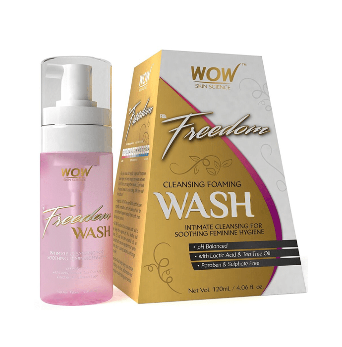 WOW Skin Science F&G Freedom Cleansing Foaming Wash