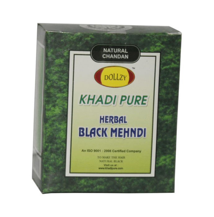 Khadi Pure Herbal Mehndi Black Pack of 2