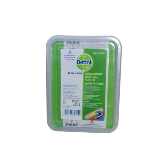 Dettol Antibacterial Plaster Washproof
