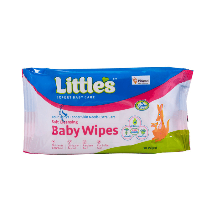 Little's Soft Cleansing Baby Wipes (Buy 1 Get 1 Free) Pack of 2