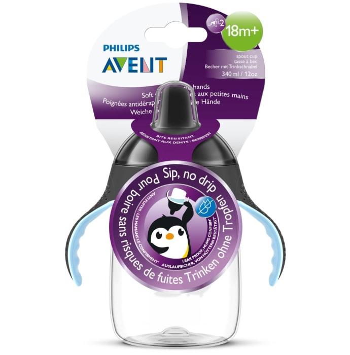 Philips Avent Premium Soft Spout Cup Black