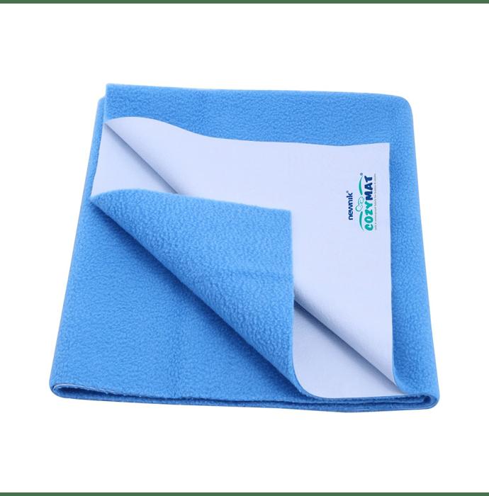 Newnik Cozymat, Dry Sheet, Waterproof, Reusable Mat / Underpad / Absorbent Sheet / Mattress Protector (Size: 200cm X 260cm) Double Bed Firoza