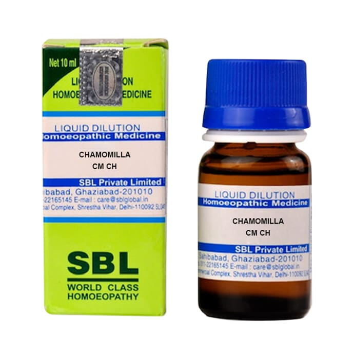 SBL Chamomilla Dilution CM CH
