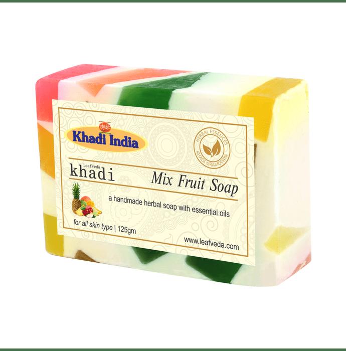 Khadi Leafveda Mix Fruit Soap Pack of 2