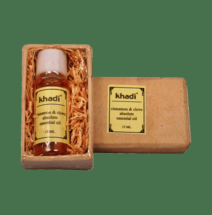 Khadi Naturals Cinnamon & Clove Absolute Essential Oil