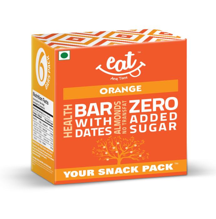 Eat Anytime Healthy Energy Bar Orange