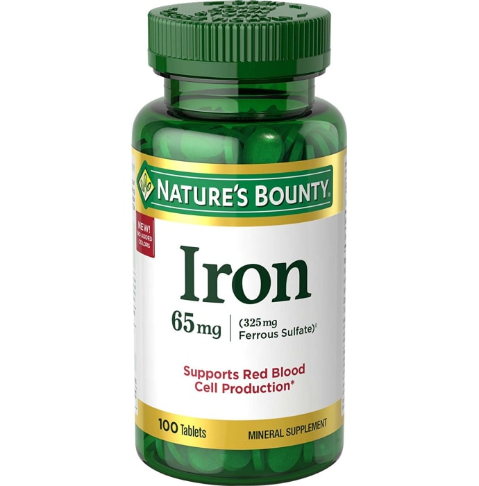 Nature's Bounty Iron 65mg Tablet