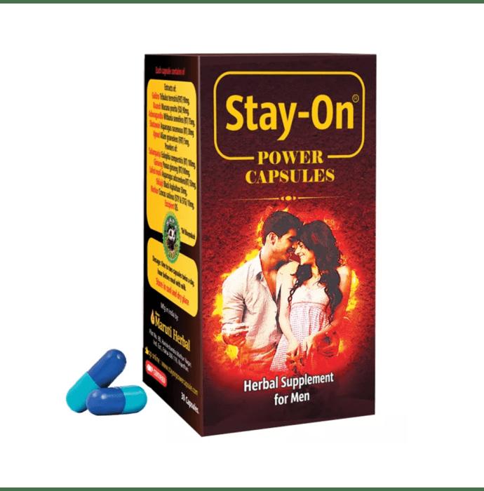 Stay-On Power Capsule