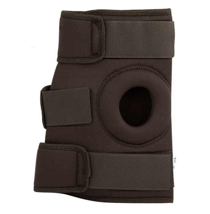 Surgicare Shoppie Multi-Action Deluxe Knee Wrap Black