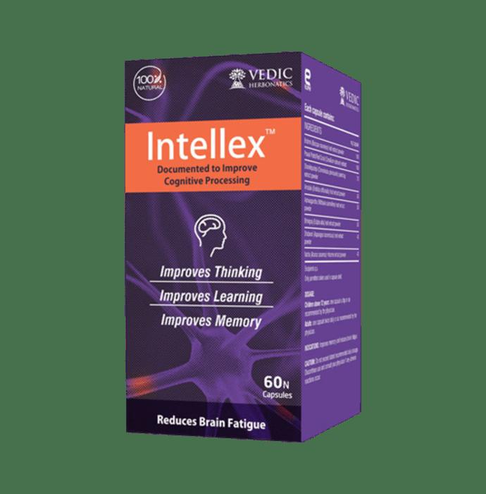 Vedic Herbonatics Intellex Capsule