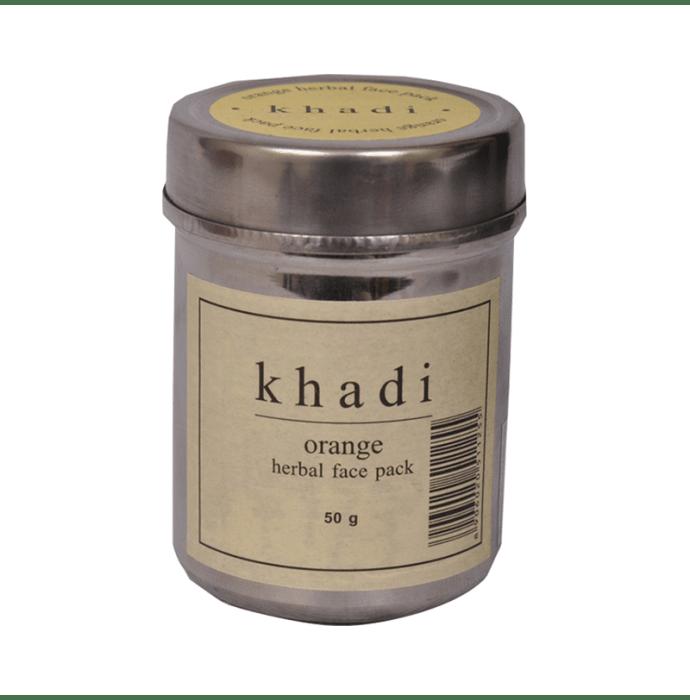 Khadi Naturals Orange Herbal Face Pack Pack of 3