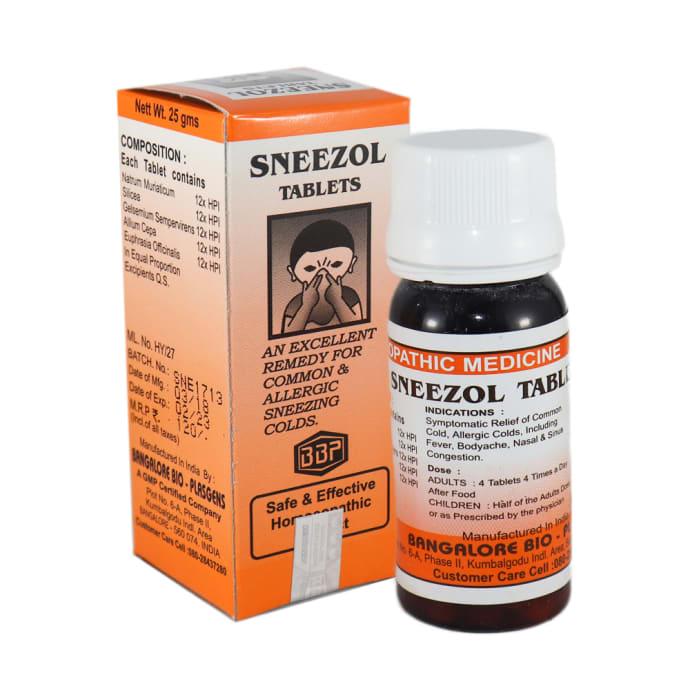 Bangalore Bio-Plasgens Sneezol Tablet