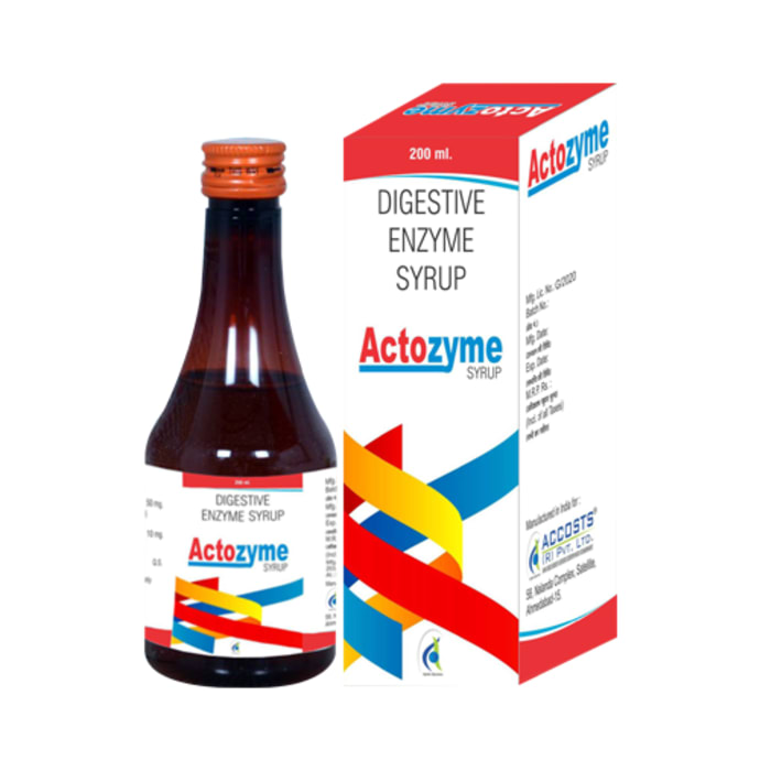 Actozyme Syrup