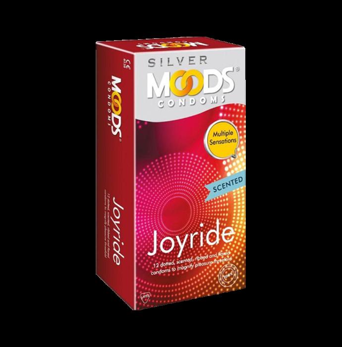 MOODS Silver Joyride Condom Pack of 2