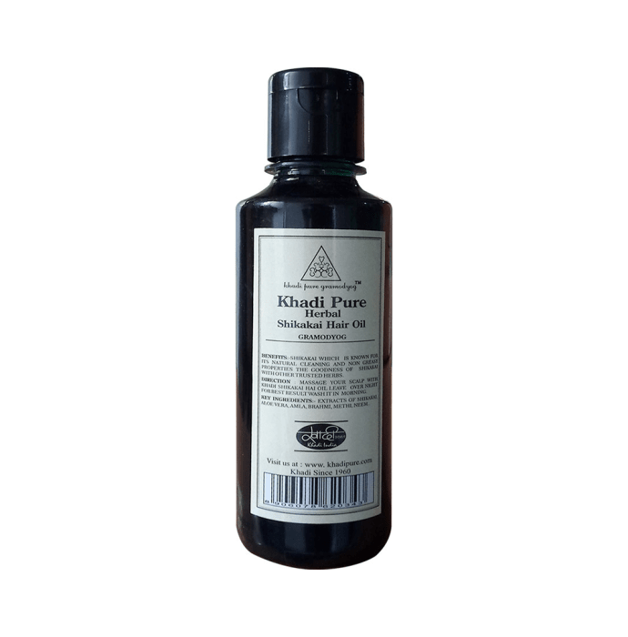 Khadi Pure Herbal Shikakai Hair Oil