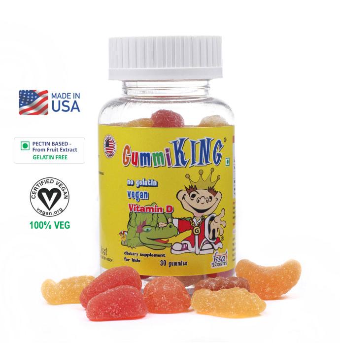 Gummiking Vitamin D gummies Good Source of Calcium Absorption Gummy