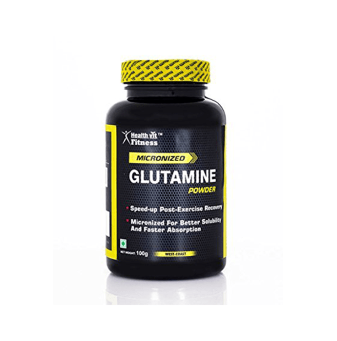 HealthVit Micronised Glutamine Powder