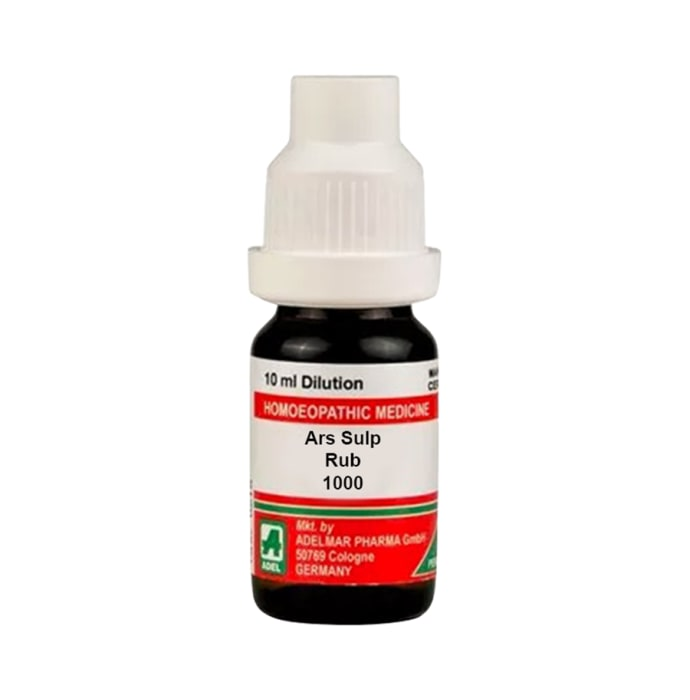 ADEL Ars Sulp Rub Dilution 1000 CH