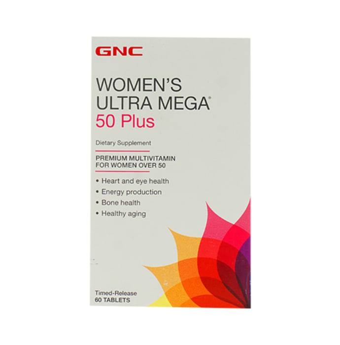 GNC Women's Ultra Mega 50 Plus Tablet